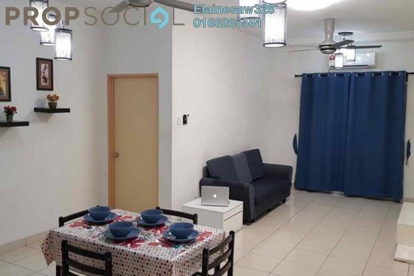 For Rent Apartment at Sri Ixora Apartment, Kajang Freehold Semi Furnished 3R/2B 1k