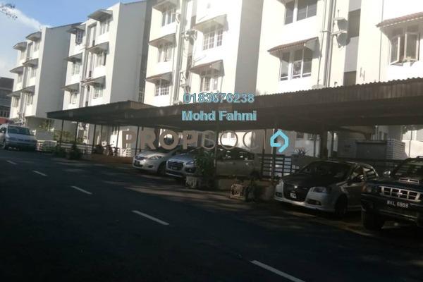 For Sale Apartment at Mahsuri Apartment, Setiawangsa Freehold Semi Furnished 3R/2B 360k