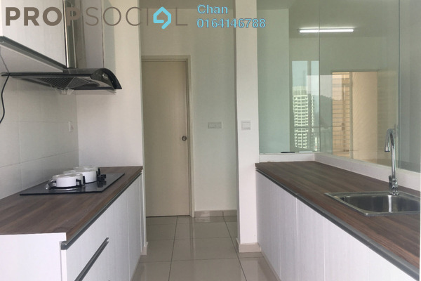 For Rent Condominium at Imperial Residences, Sungai Ara Freehold Semi Furnished 3R/2B 1.1k