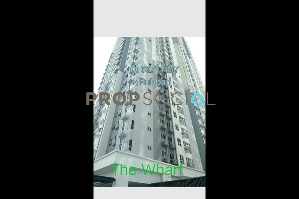 For Sale Condominium at The Wharf, Puchong Freehold Unfurnished 3R/2B 500k