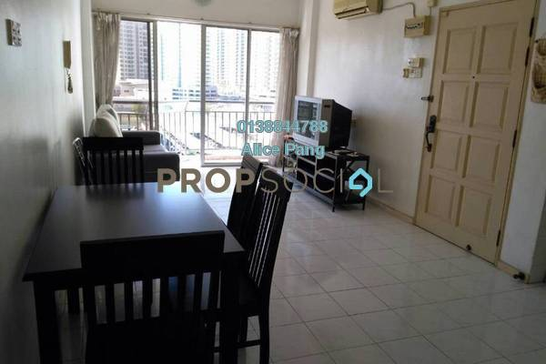 For Rent Apartment at Villa Emas, Bayan Indah Freehold Fully Furnished 3R/2B 1.5k