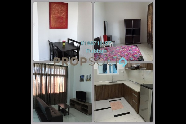 For Sale Condominium at Skypod, Bandar Puchong Jaya Freehold Fully Furnished 1R/1B 460k
