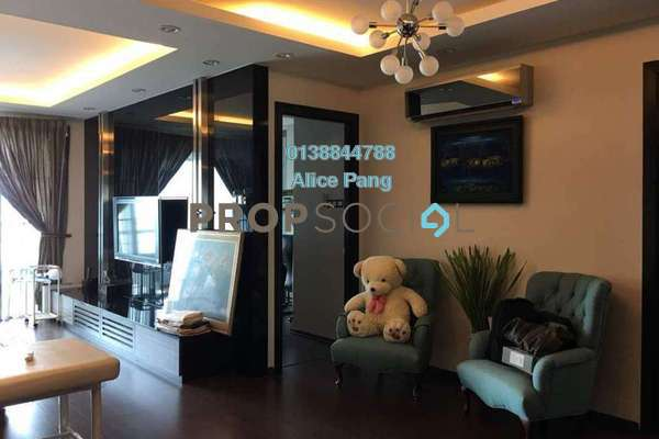 For Sale Condominium at BaysWater, Gelugor Freehold Fully Furnished 2R/2B 1.05m