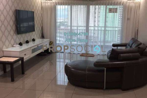 For Rent Condominium at 1-Sky, Bayan Baru Freehold Fully Furnished 3R/2B 2.8k
