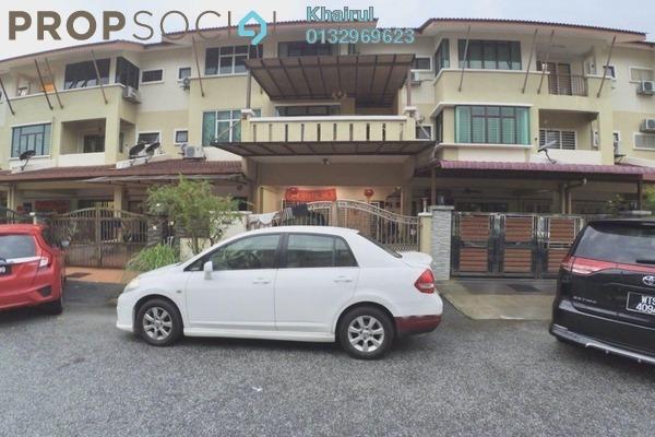 For Sale Terrace at Taman Samudra, Batu Caves Freehold Semi Furnished 6R/4B 790k
