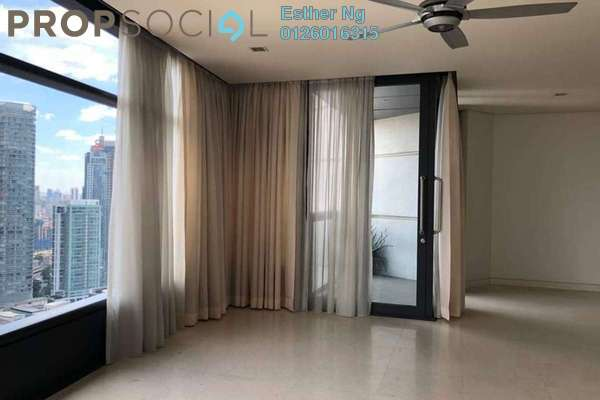 For Rent Condominium at The Troika, KLCC Freehold Semi Furnished 3R/5B 10k