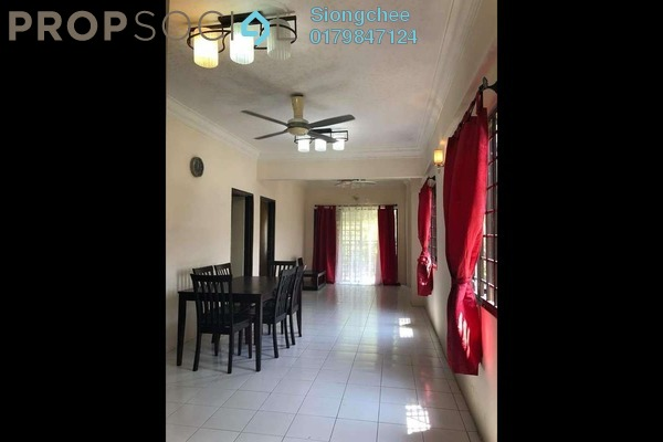 For Rent Apartment at Ixora Apartment, Kepong Freehold Semi Furnished 3R/2B 1.35k