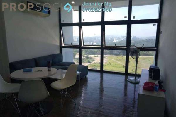For Rent SoHo/Studio at The Place, Cyberjaya Freehold Fully Furnished 4R/1B 1.5k