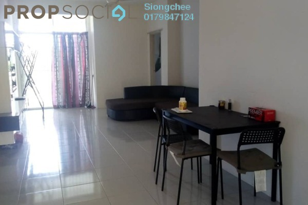 For Rent Apartment at Ria Apartment, Kepong Freehold Fully Furnished 3R/2B 1.2k