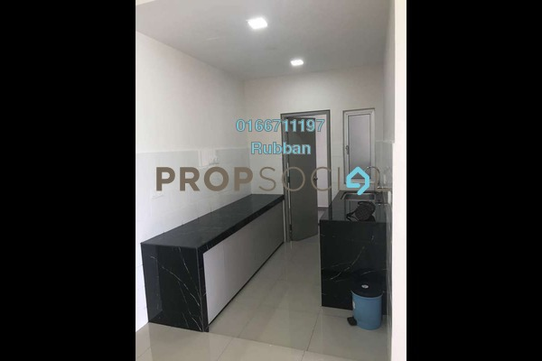 For Rent Condominium at The Wharf, Puchong Freehold Semi Furnished 3R/2B 1.5k