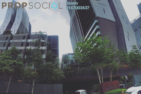 For Sale Condominium at The Capers, Sentul Freehold Semi Furnished 3R/4B 1.2m
