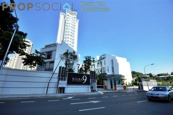 For Rent Condominium at Kiara 9, Mont Kiara Freehold Semi Furnished 3R/3B 5.5k