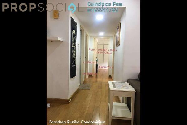 For Rent Condominium at Paradesa Rustica, Bandar Sri Damansara Freehold Semi Furnished 3R/2B 1.6k
