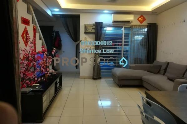 For Sale Terrace at PU5, Bandar Puchong Utama Freehold Semi Furnished 4R/3B 515k