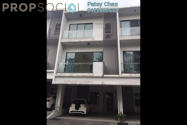 For Rent Terrace at D'Residency, Bandar Utama Freehold Fully Furnished 4R/4B 2.6k