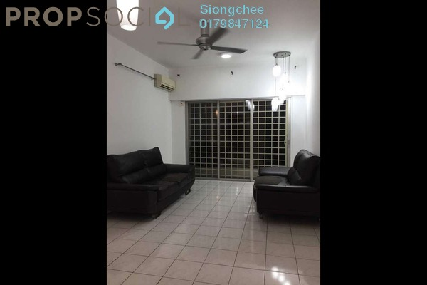 For Rent Condominium at Menara Menjalara, Bandar Menjalara Freehold Semi Furnished 3R/2B 1.4k