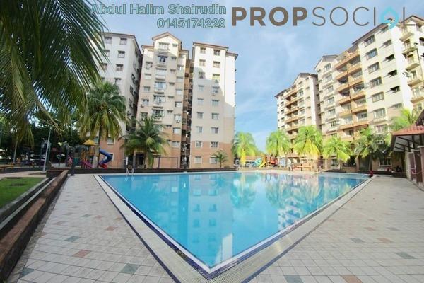 For Sale Condominium at Elaeis 2, Bukit Jelutong Freehold Semi Furnished 3R/2B 350k