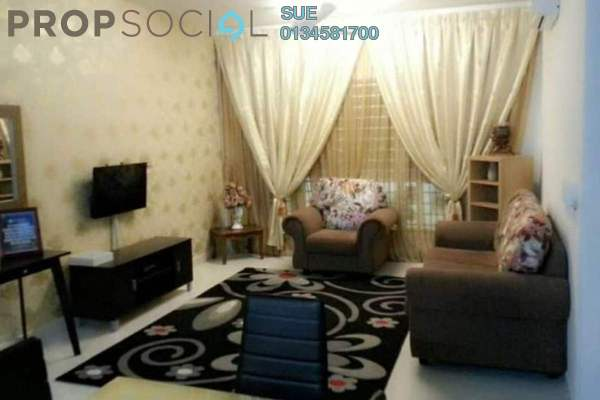 For Rent Apartment at Seri Mutiara, Setia Alam Freehold Fully Furnished 3R/2B 1.4k