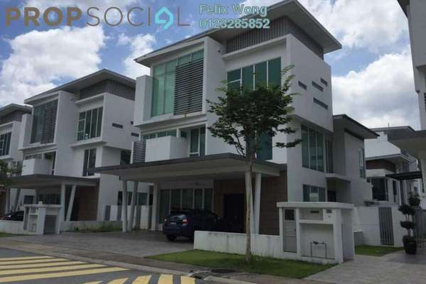 For Sale Bungalow at Garden Residence, Cyberjaya Freehold Semi Furnished 7R/6B 2.4m