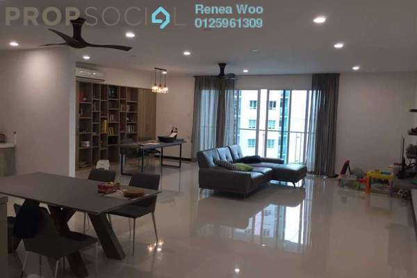 For Sale Condominium at Vertiq, Gelugor Freehold Fully Furnished 4R/3B 1.55m