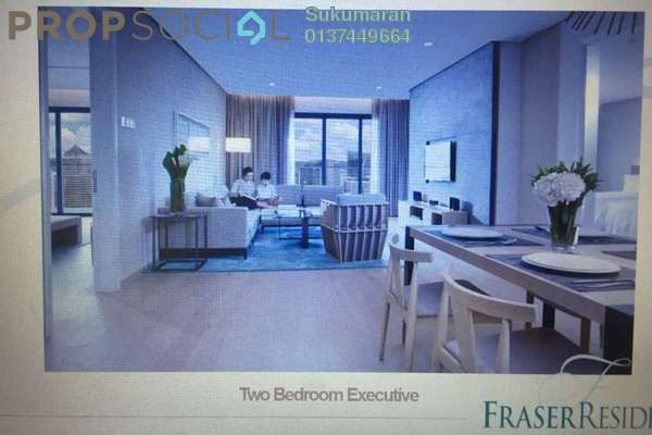 For Rent Serviced Residence at 188 Suites, KLCC Freehold Fully Furnished 0R/1B 6.5k