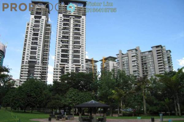 For Rent Condominium at The Binjai On The Park, KLCC Freehold Semi Furnished 4R/3B 17k