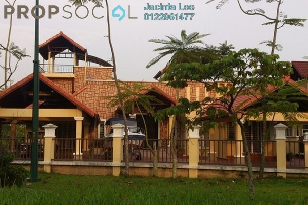 For Sale Bungalow at Section U8, Bukit Jelutong Freehold Semi Furnished 7R/7B 2.55m