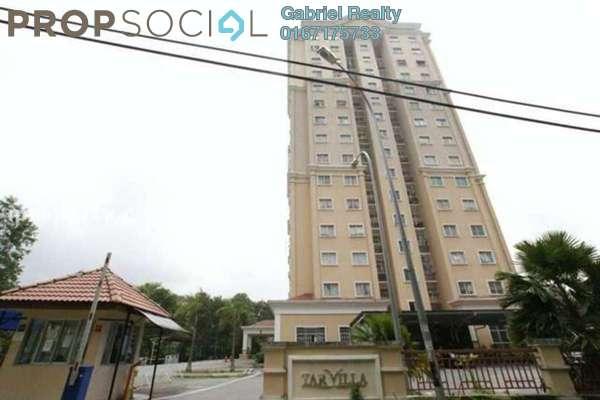 For Rent Condominium at TAR Villa, Setapak Freehold Semi Furnished 3R/2B 1.5k