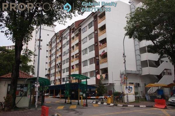 For Rent Condominium at Sri Pelangi, Setapak Freehold Semi Furnished 4R/3B 1.3k