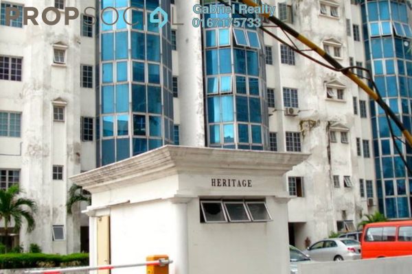 For Rent Condominium at Heritage, Setapak Freehold Semi Furnished 3R/2B 1.7k