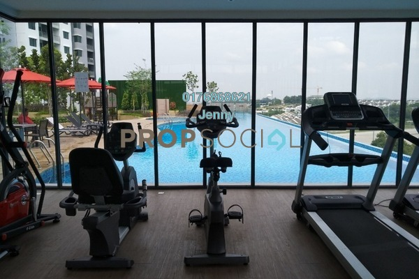 For Rent Condominium at Sutera Pines, Bandar Sungai Long Freehold Semi Furnished 3R/2B 1.4k