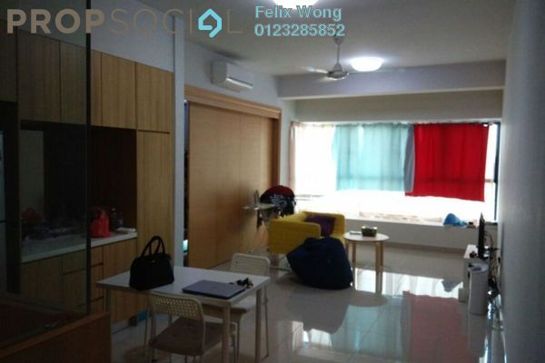 For Rent Serviced Residence at The Leafz, Sungai Besi Freehold Semi Furnished 2R/2B 1.9k