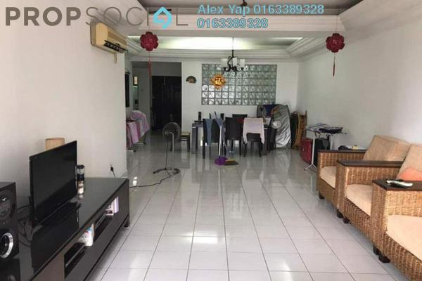 For Rent Condominium at Maxwell Towers, Gasing Heights Freehold Semi Furnished 3R/3B 1.8k