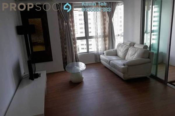 For Rent Condominium at i-Zen Kiara I, Mont Kiara Freehold Fully Furnished 2R/2B 2.9k