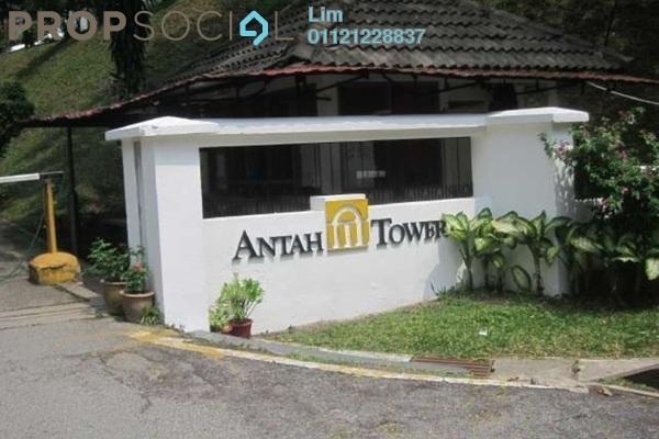 For Rent Condominium at Antah Tower, Dutamas Freehold Semi Furnished 4R/3B 1.9k