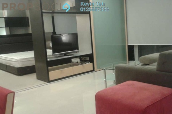 For Sale Condominium at VERVE Suites, Mont Kiara Freehold Fully Furnished 1R/1B 710k