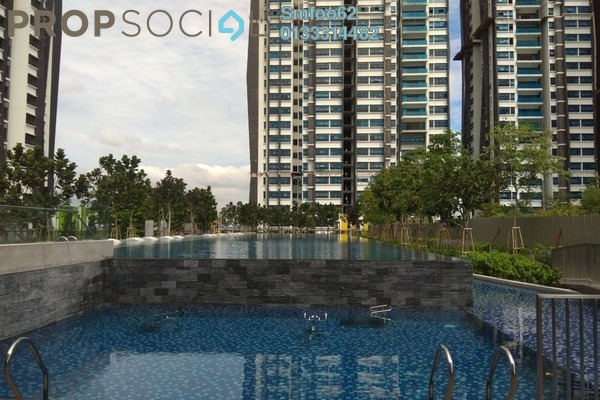 For Sale Condominium at Lakeville Residence, Jalan Ipoh Freehold Semi Furnished 3R/2B 720k