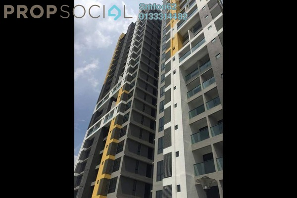 For Sale Condominium at Silk Sky, Balakong Freehold Semi Furnished 3R/3B 500k