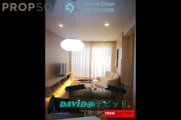 For Rent Condominium at VERVE Suites, Mont Kiara Freehold Fully Furnished 2R/2B 3.5k