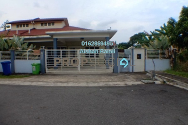 For Sale Semi-Detached at Seksyen 32, Bukit Rimau Freehold Semi Furnished 4R/2B 480k