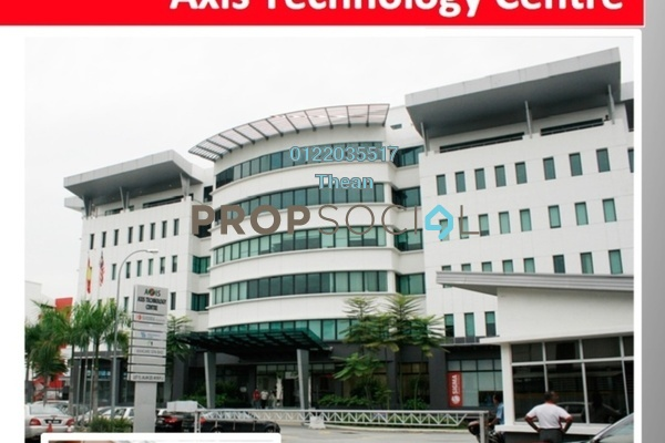 For Rent Office at Axis Technology Centre, Petaling Jaya Freehold Semi Furnished 0R/0B 17k