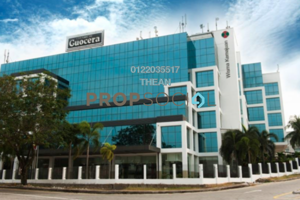 For Rent Office at Wisma Kemajuan, Petaling Jaya Freehold Semi Furnished 0R/0B 10k