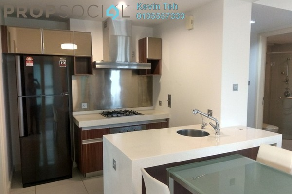 For Rent Condominium at Tiffani Kiara, Mont Kiara Freehold Fully Furnished 1R/1B 3.5k