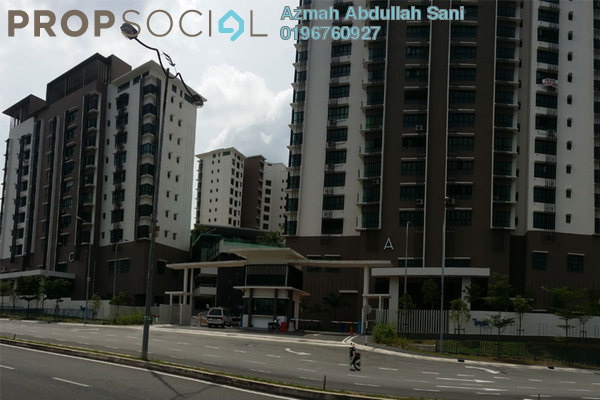 For Sale Condominium at Suakasih, Bandar Tun Hussein Onn Freehold Unfurnished 3R/2B 620k