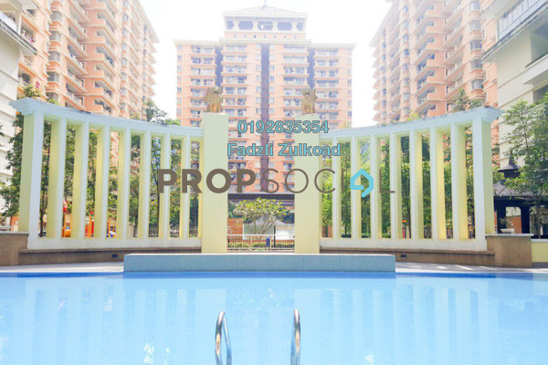 For Sale Condominium at Platinum Hill PV8, Setapak Freehold Semi Furnished 3R/2B 630k