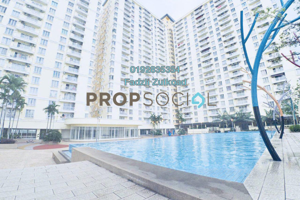 For Sale Condominium at Platinum Lake PV12, Setapak Leasehold Fully Furnished 3R/2B 439k