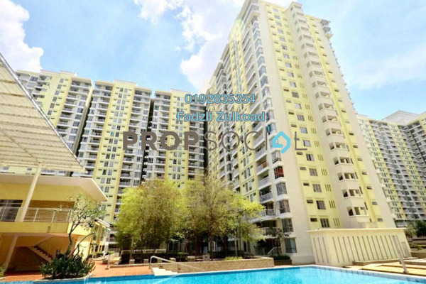 For Sale Condominium at Platinum Lake PV13, Setapak Leasehold Semi Furnished 4R/2B 449k