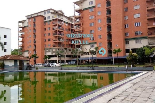 For Sale Apartment at Golden Villa, Klang Freehold Unfurnished 3R/2B 155k