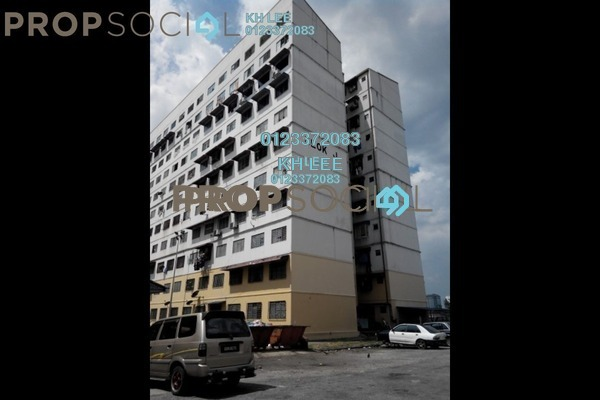 For Sale Apartment at Taman Bayu Perdana, Klang Freehold Unfurnished 3R/3B 53k