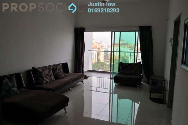 For Sale Condominium at DeSkye Residence, Jalan Ipoh Freehold Unfurnished 3R/2B 588k